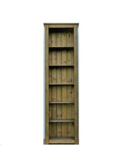 Hampshire Pine Bookcase 200x60cm