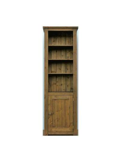 Hampshire Pine Lower Cupboard Bookcase 150x60cm