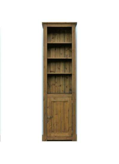 Hampshire Pine Lower Cupboard Bookcase 200x60cm