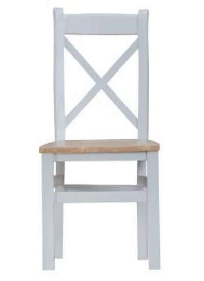 Iona Cross Back Wooden chair