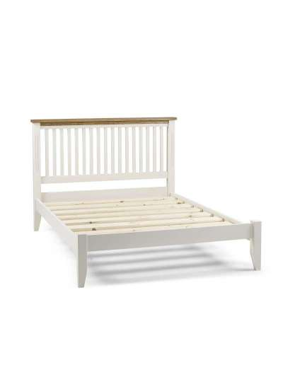 Bedframe with Low Foot End