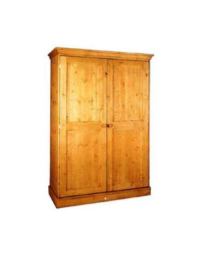 Cornish Double Full Length Pine Wardrobe