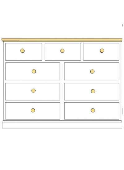 Cornish 9 Drawer Multi-Chest