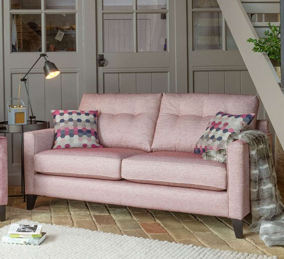Eton three seater sofa by Alstons - Lauries Furniture, Bridgwater ...